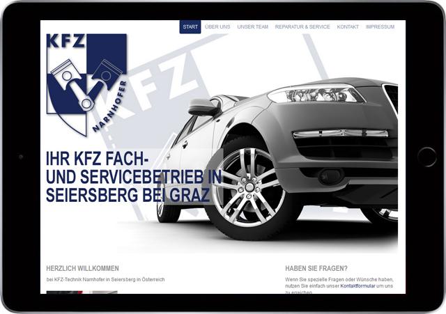 Winterlik Portfolio Narnhofer Website