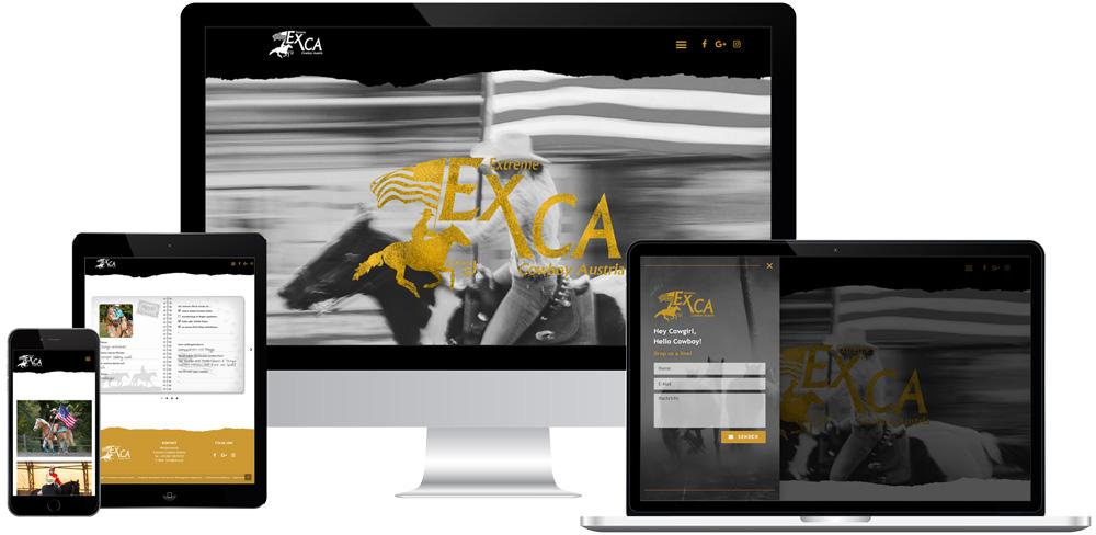 Winterlik Portfolio Website EXCA